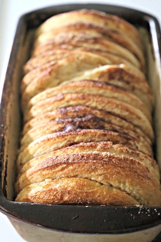Cinnamon Tear and Share Bread