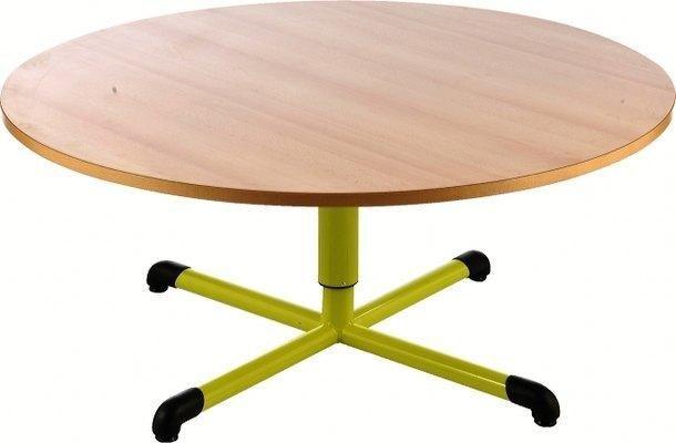 Les tables réglables Chloé plateau beige - Manutan Collectivités