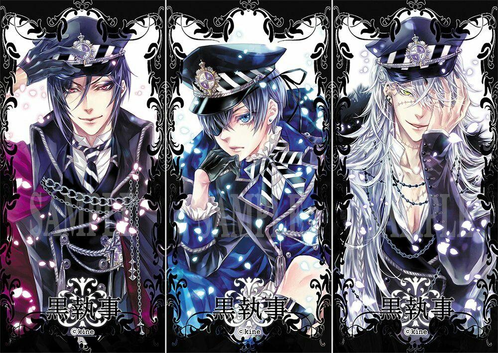 Картинки аниме темный дворецкий гробовщик и сиэль