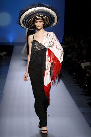 Fashion And Nations Designers Inspirations The Fashion Spot Paul Gaultier Spring Fashion Jean Paul Gaultier Haute Couture