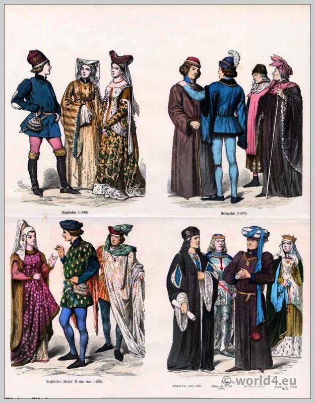 Bildergebnis für 15th century clothing | 15th century | Pinterest ...
