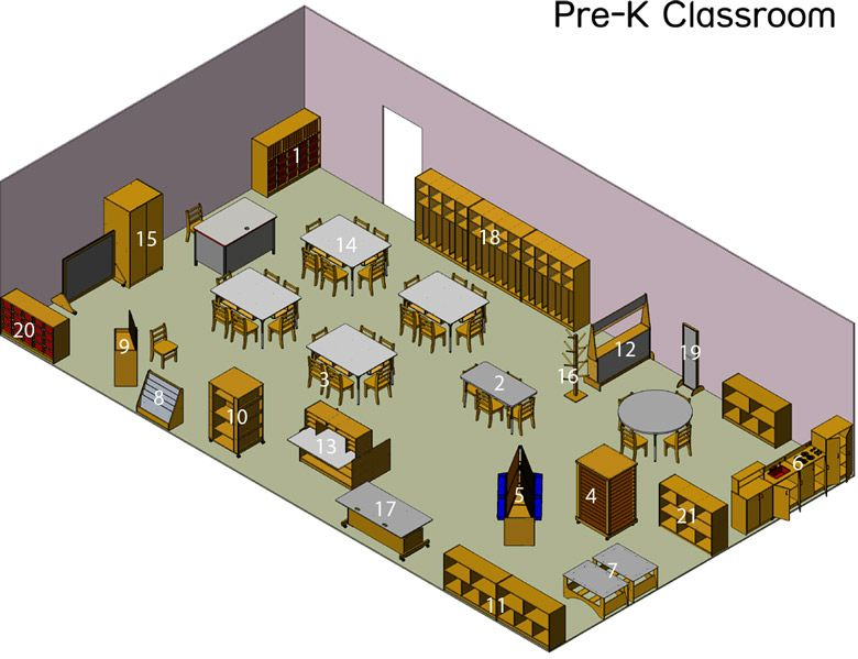 Items for sale good overview of the types of furnishings for Classroom floor