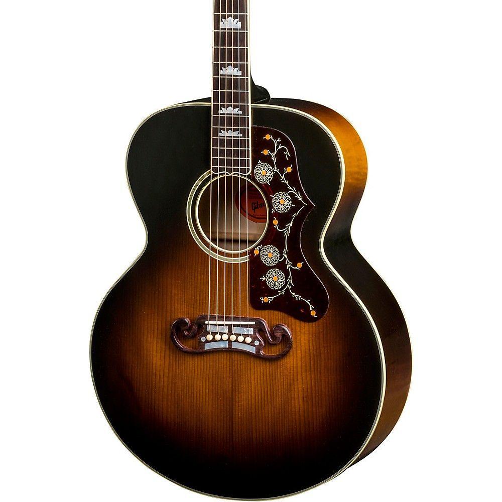 Gibson 2018 Sj 200 Vintage Acoustic Guitar Vintage Sunburst Guitar Acoustic Guitar Vintage Guitars