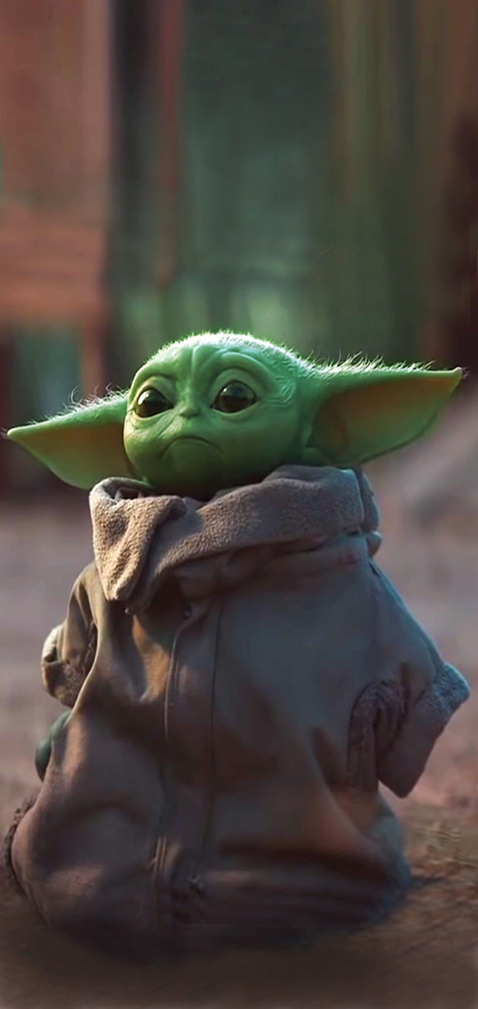 Baby Yoda Mobile Wallpaper In 2020 Yoda Wallpaper Mobile Wallpaper Yoda Gif