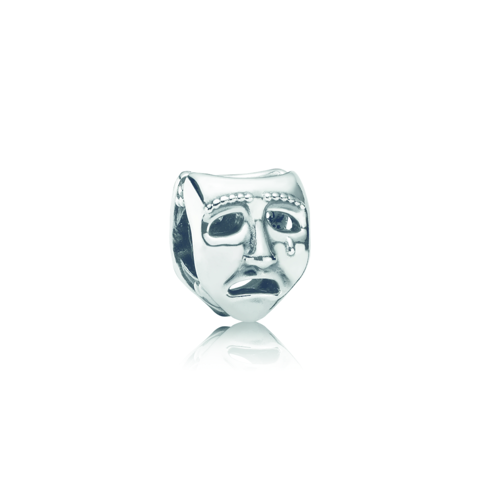 Theatre Mask Charm - Pandora UK | Theatre masks, Pandora uk ...
