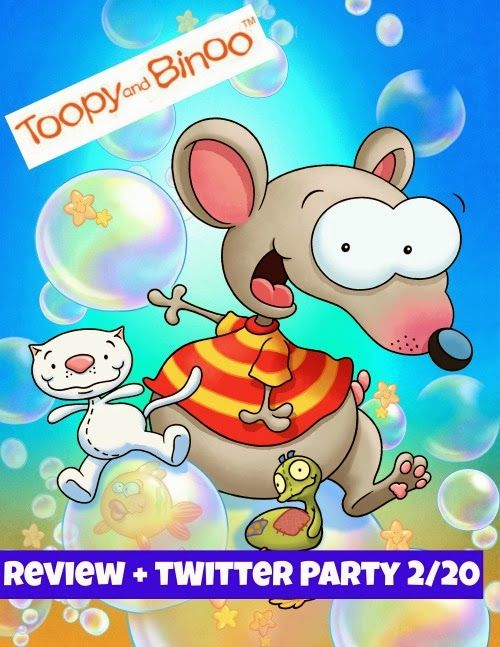 Toopy And Binoo Children\'s Show Review + Twitter Party