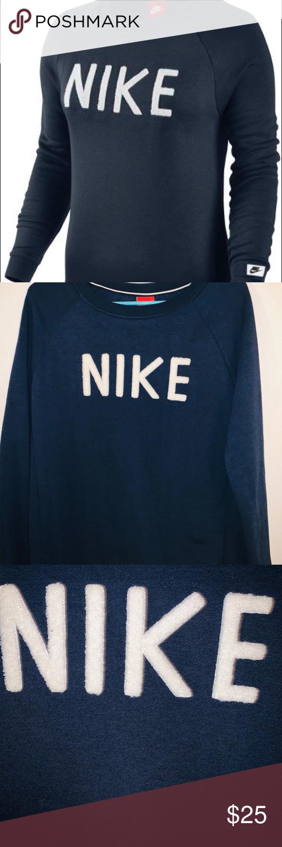 estoy de acuerdo con Brújula tolerancia  Nike Modern Crew Sweatshirt | Crew sweatshirts, Sweatshirts, Nike symbol