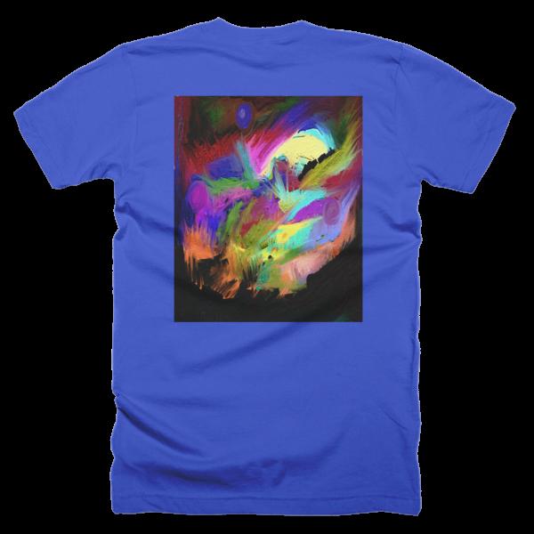 """""""Abstract,"""" T-Shirt (man/back)"""