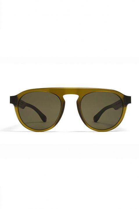 a2bf9f4315a6 MYKITA X MAISON MARGIELA MMRAW001 Raw Peridot Sunglasses. Raw and  unpolished acetate frames