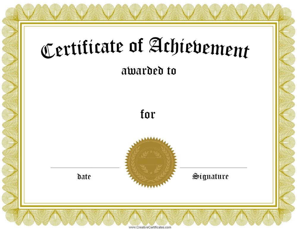 Superlative Certificate Template in 2020 | Certificate of ...
