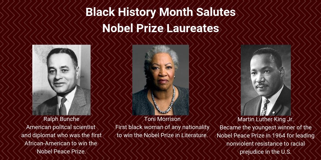 Nobel Prize Laureates Nobel prize in literature, Black