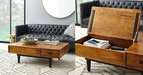 11 Space Optimized Approved Coffee Tables For A Small Apartment