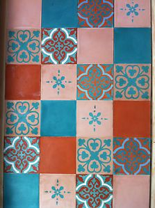 Moroccan Encaustic Cement Tiles Spain France | eBay