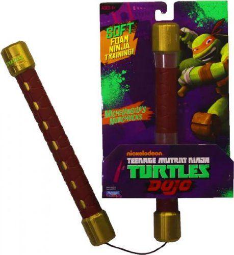 Ninja Turtle nunchucks! $24.75  http://ninjanunchucks.com/tmnt-nunchucks/  #nunchucks #tmnt #numchucks #ninja #ninjas #nunchaku #karate #kung fu #taekwondo #martial art #martial arts #martial arts weapons #martial arts weapon #teenage mutant ninja turtles #ninja turtles #kids #kid #kids toys #kid toy #kids toy #kid toys #toy #toys