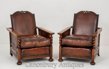 Pair Antique Club Chairs Oak Leather Armchair 1920 Leather Club Chairs Club Chairs Leather Armchair,Best Places To Travel In November 2020 Usa