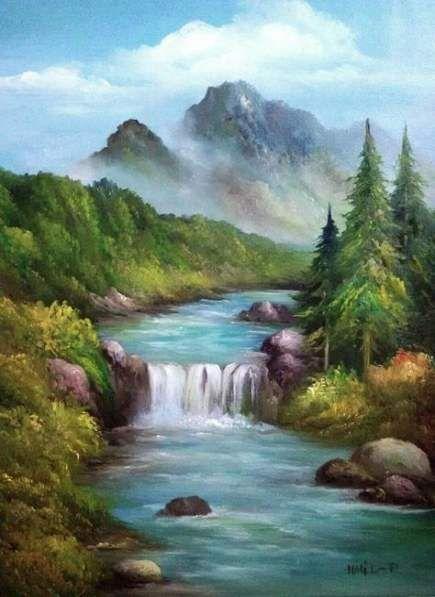 32 Ideas Landscape Ideas Painting Painting Landscape Paisaje Para Pintar Hermosos Paisajes Paisaje De Fantasia