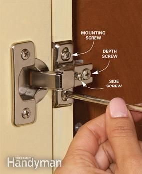 Home Repair How To Fix Kitchen Cabinets Curb Appeal Updates