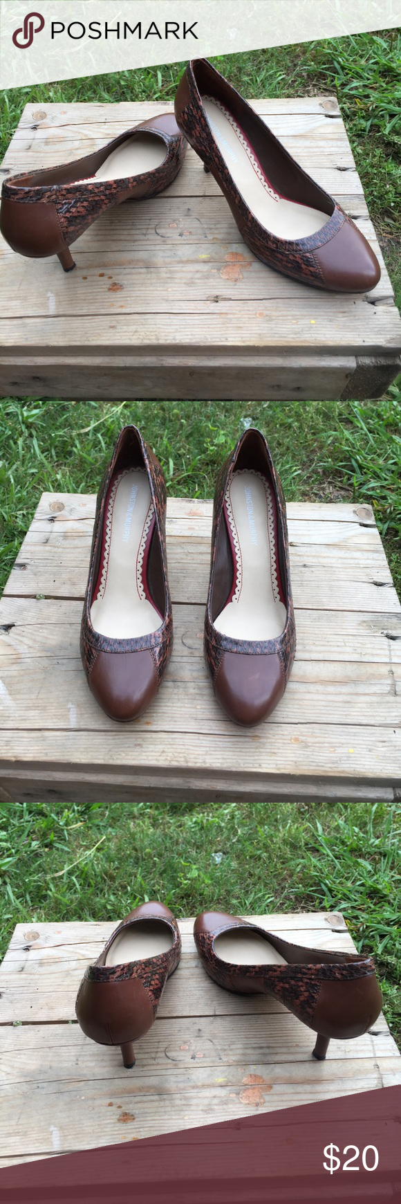 Johnston & Murphy heels Size 6 1/2, no flaws, ships today💕 Johnston & Murphy Shoes Heels