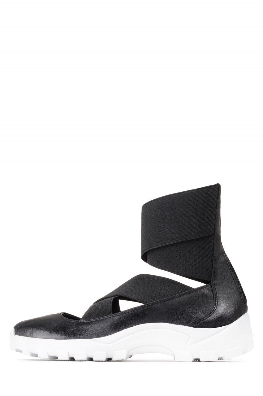 Jeffrey Campbell Shoes DAIMLER HI Shop All in Black White