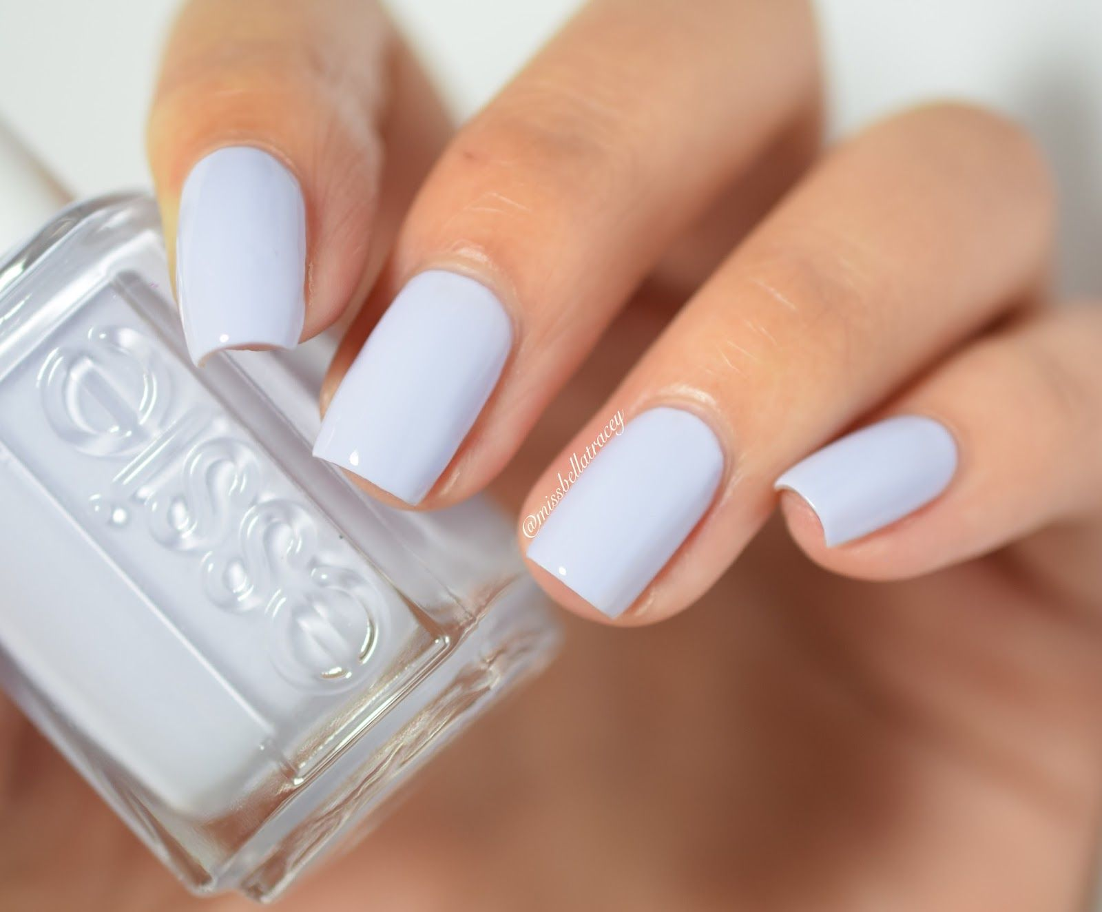 Essie Virgin Snow | Nailspiration | Pinterest | Essie nail polish