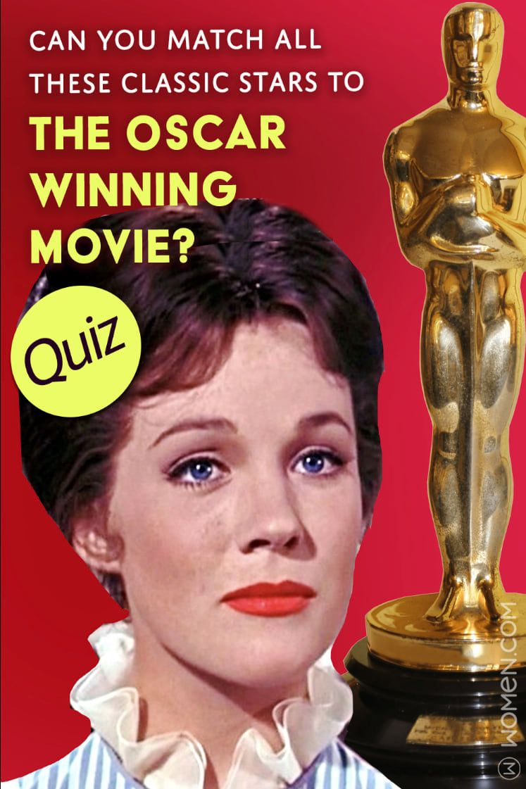 Only classic film buffs can match these stars to the oscar