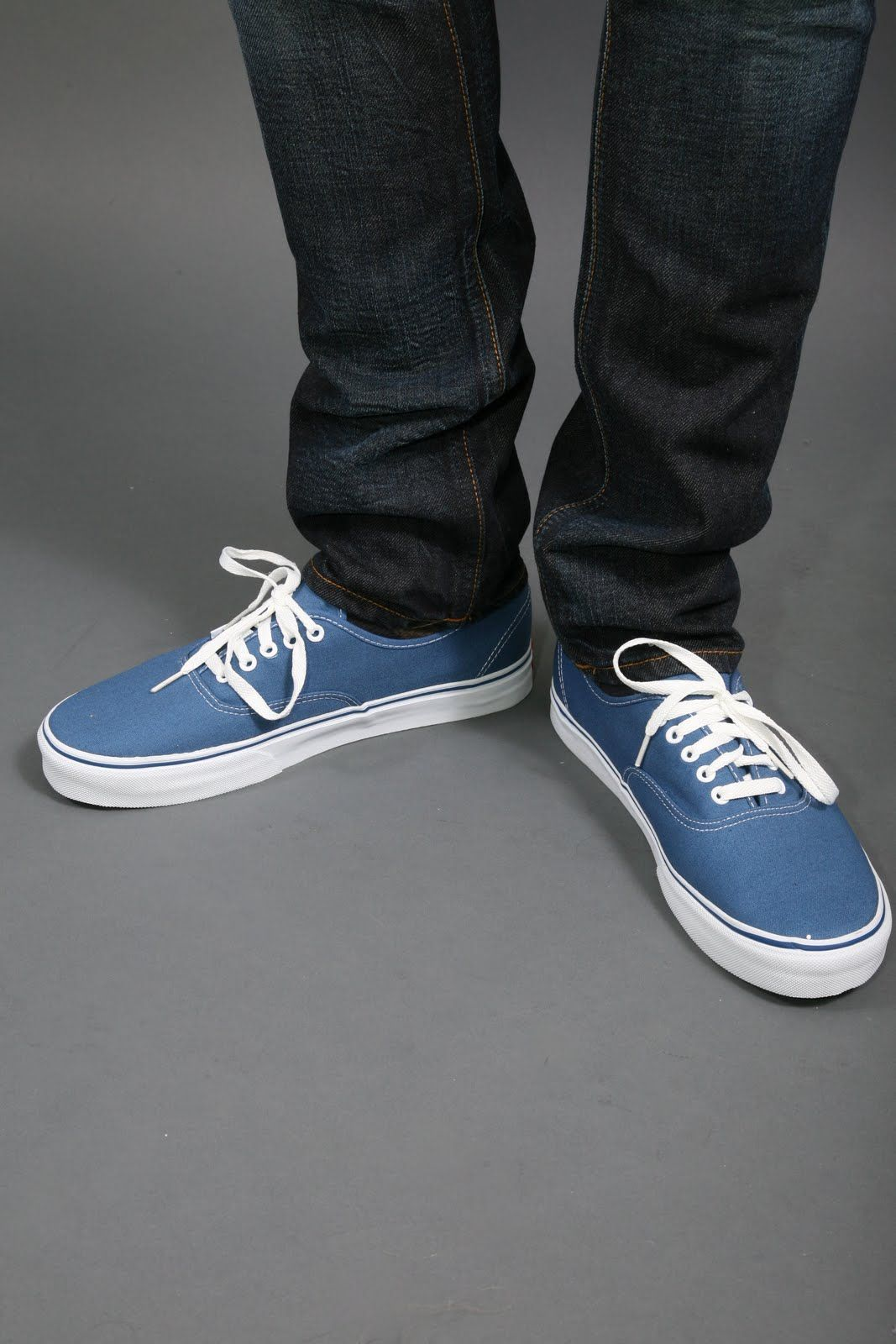 Vans Authentic Navy Dogtown Syle Sneakers Vans Authentic Navy Vans Vans Authentic