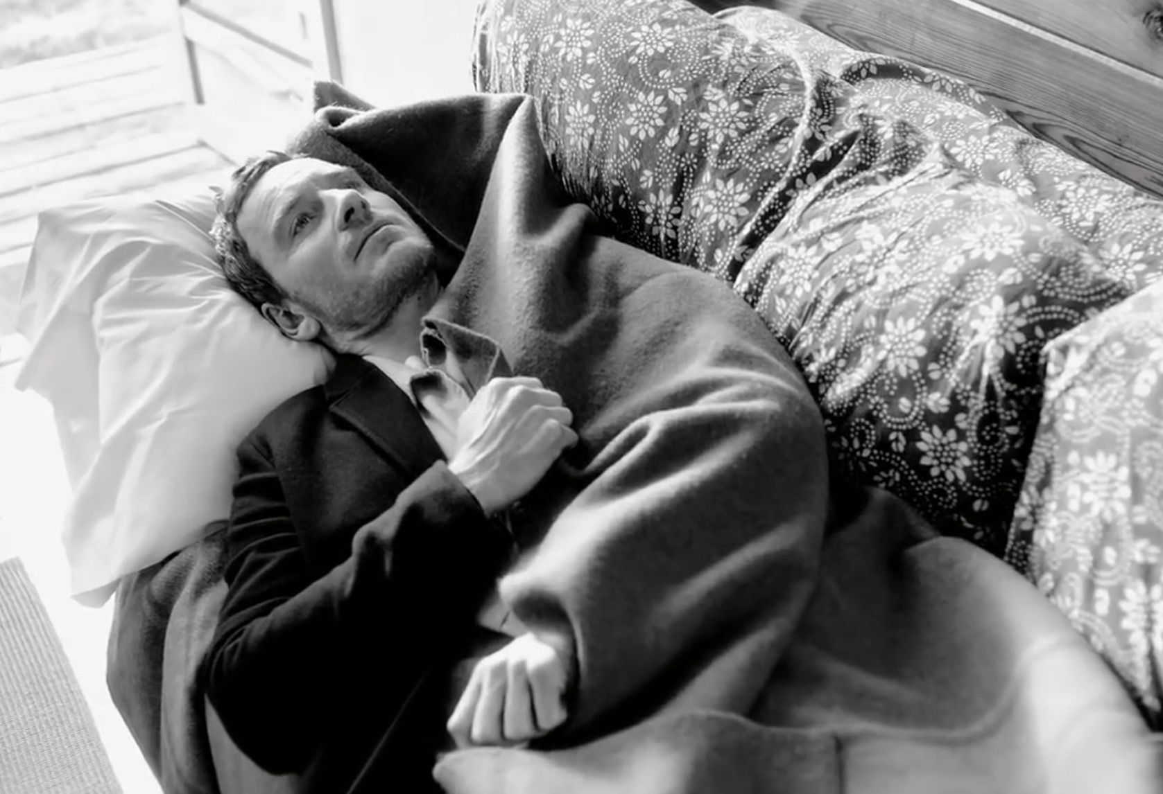 """From 'Four Photographic Sonatas' starring Michael Fassbender"""" by Bruce Weber 2015 -  coverstory of New York Times' T magazine."""