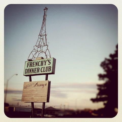 Frenchy's Dinner Club was on old West St Germain. The sign still remains. Would