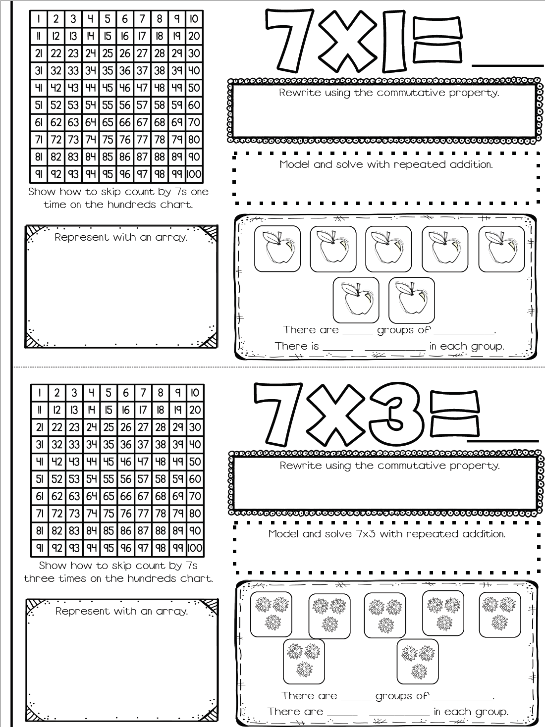 Multiplication Fact Booklets Improving Understanding And Memorization Multiplication Facts How To Memorize Things Multiplication [ 1468 x 1100 Pixel ]