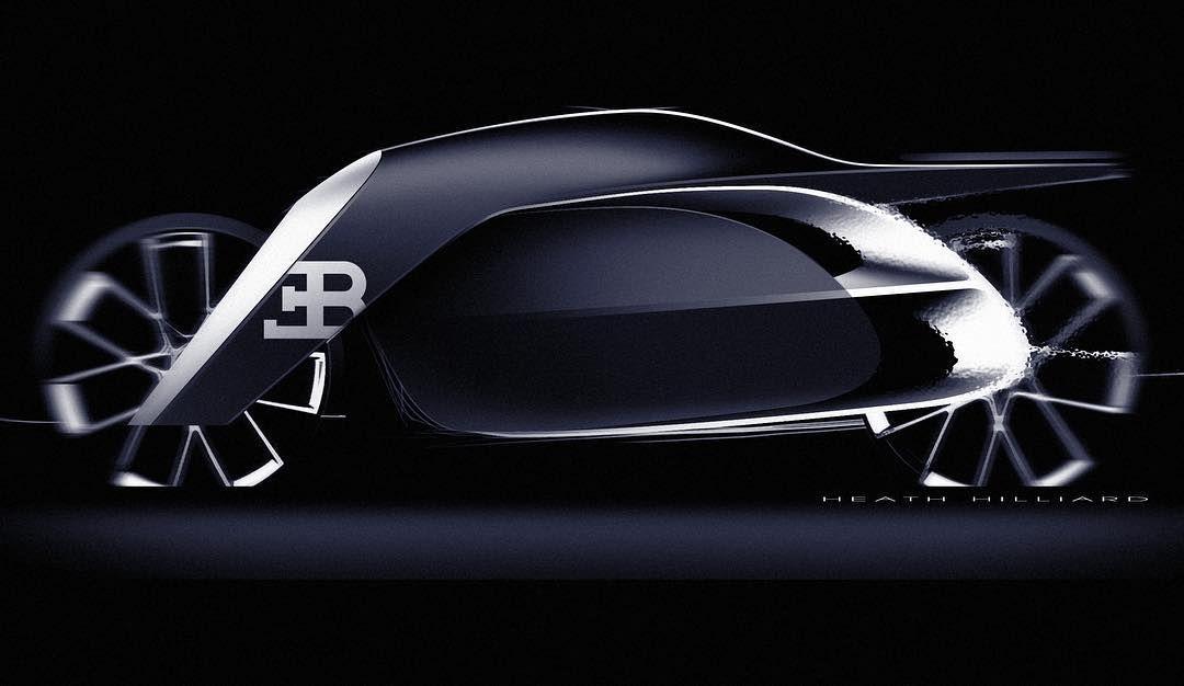 Heath Hilliard Bugatti Bike Challenge Bike Sketch