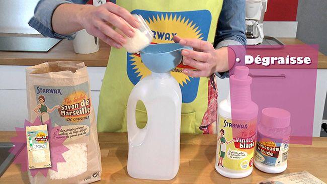 voici comment fabriquer votre lessive avec du savon de marseille d graissant le savon de. Black Bedroom Furniture Sets. Home Design Ideas
