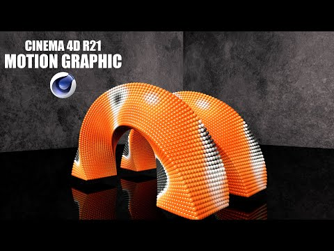 Cinema 4d R21 Tutorial Motion Graphic Animation Youtube Cinema 4d Motion Graphics Cinema 4d Tutorial