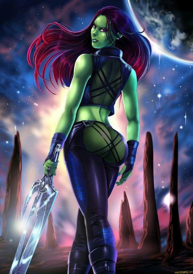 Pin by cedric noe on comic gals | Gamora, Superhero