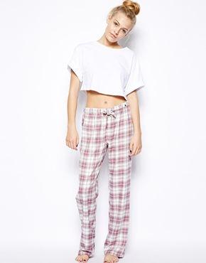 9cf0708c Esprit Crosby Check Pants | Clothes | Pants, Best pajamas, Cute pajamas