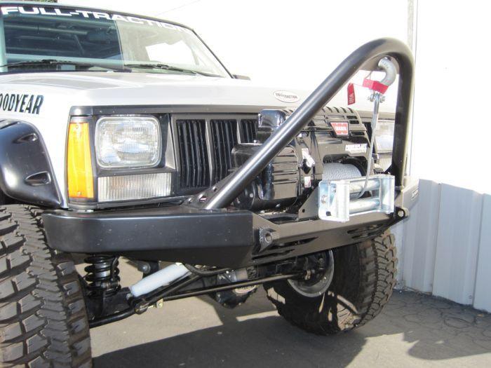 Xj Jeep Cherokee Front Stinger Winch Bumper Http Www Crawltech