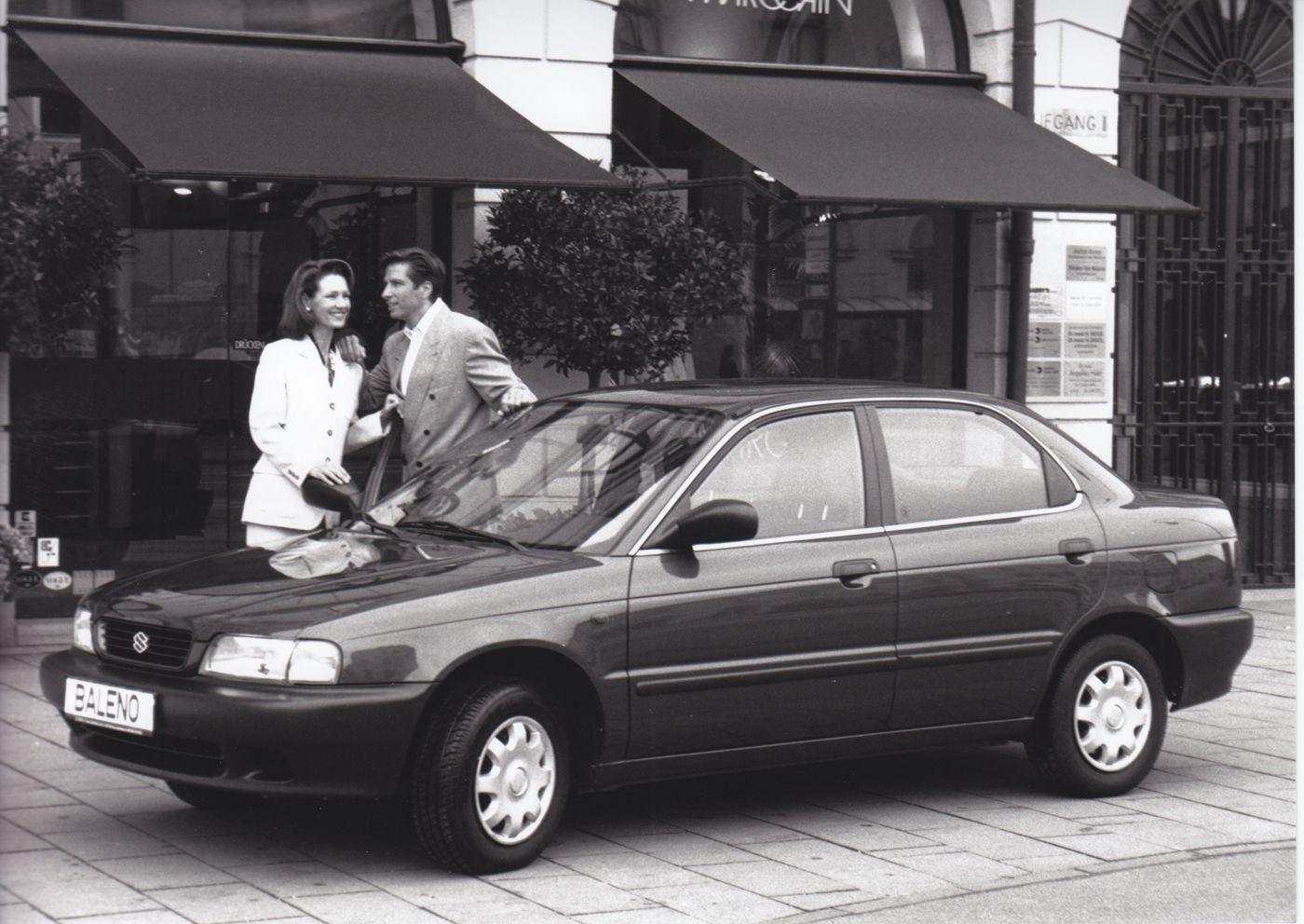 Suzuki Baleno 1.3GL/1.6 GLX (Sept95) スズキ