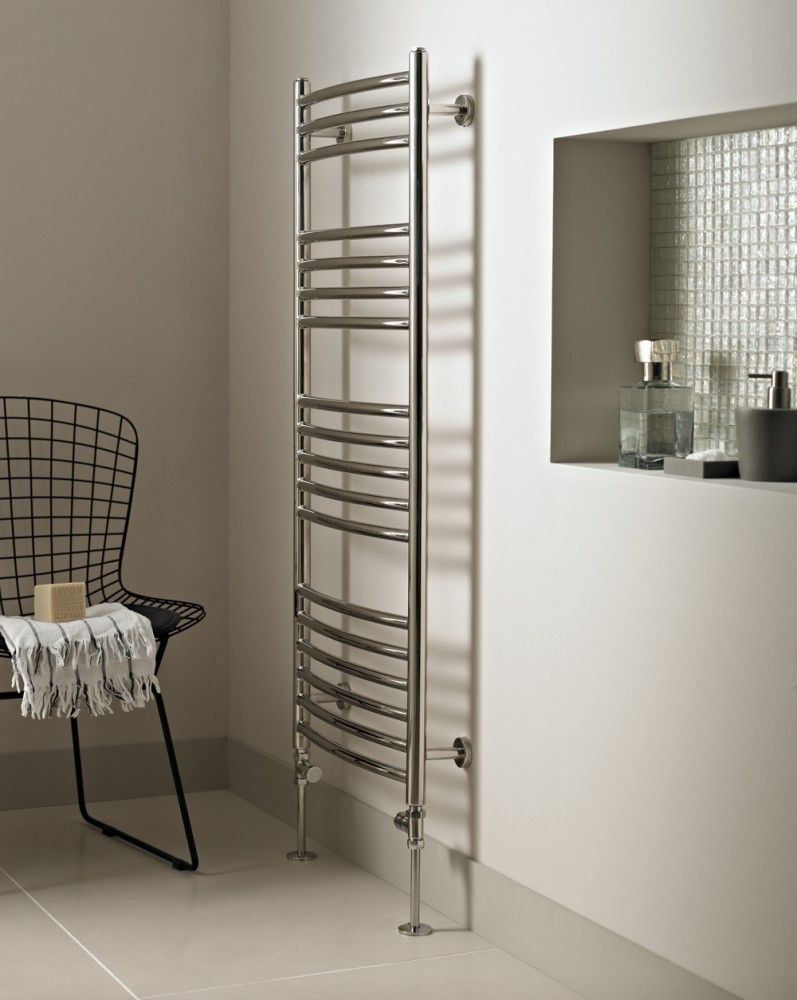 Beth:  perhaps add a wall towel warmer (not a floor one like this)