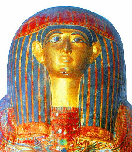 Outer Coffin of Masaharta (The Royal Cache TT320, Deir el-Bahari) Egyptian Museum Cairo, JE CG 61027