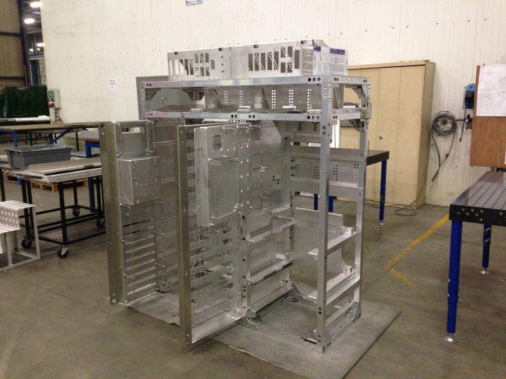 Fabrication Une Structure D Armoire Lectrique Par Ctl Plus D  # Fabrication D'Armoire