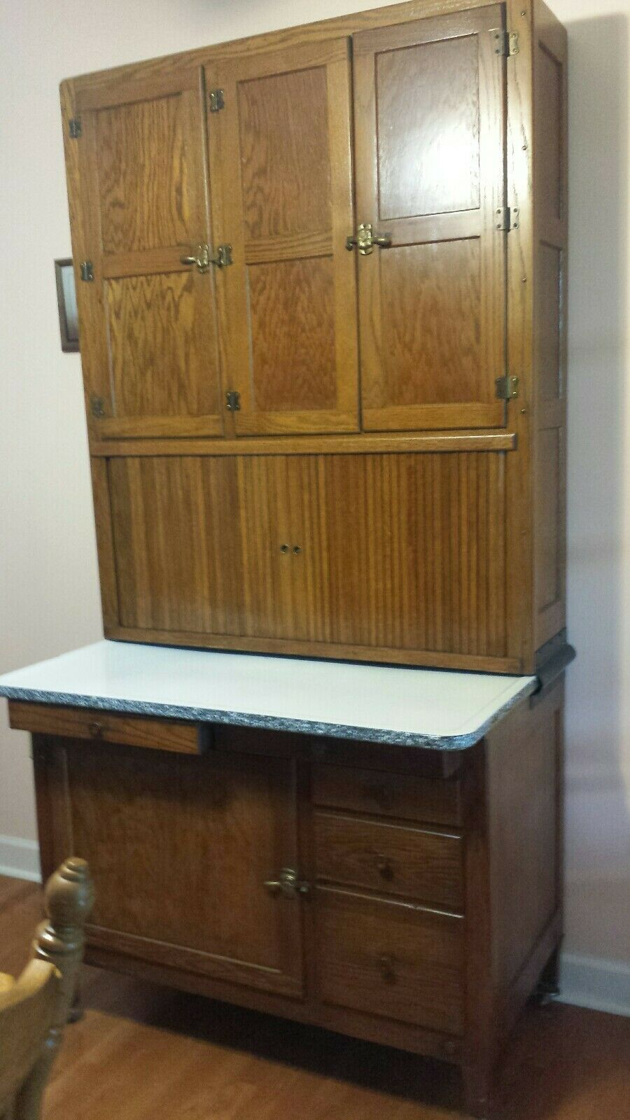 Hoosier Highboy Kitchen Cabinet   eBay (With images ...