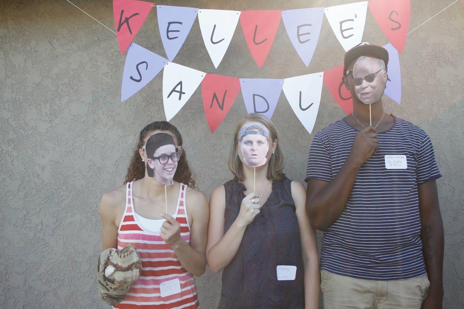 To show you love...: Sandlot Theme Birthday//photo booth