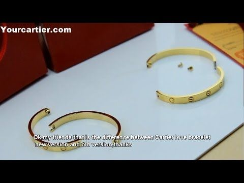 8bf95b6c665 Difference between Cartier love bracelet new version and old version ...