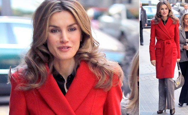 'Lady in red', Letizia se apunta al rojo