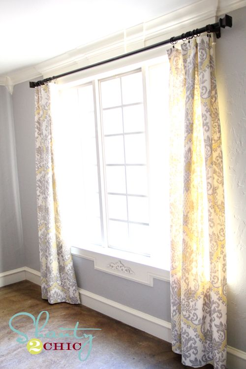 Dining Room Window Panels  DIY home projects  Pinterest