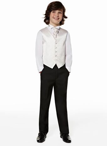 Diamond Ivory Younger Pageboy Set Bhs Really Think This Would Suit Both Jakey Caleb Can Change The Cravat For Wver Colour We Choose