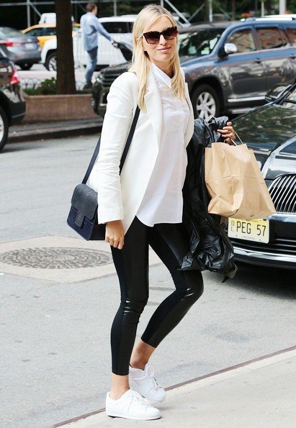 Karolina Kurkova s Pregnancy Style Is Perfection bd64b558b32