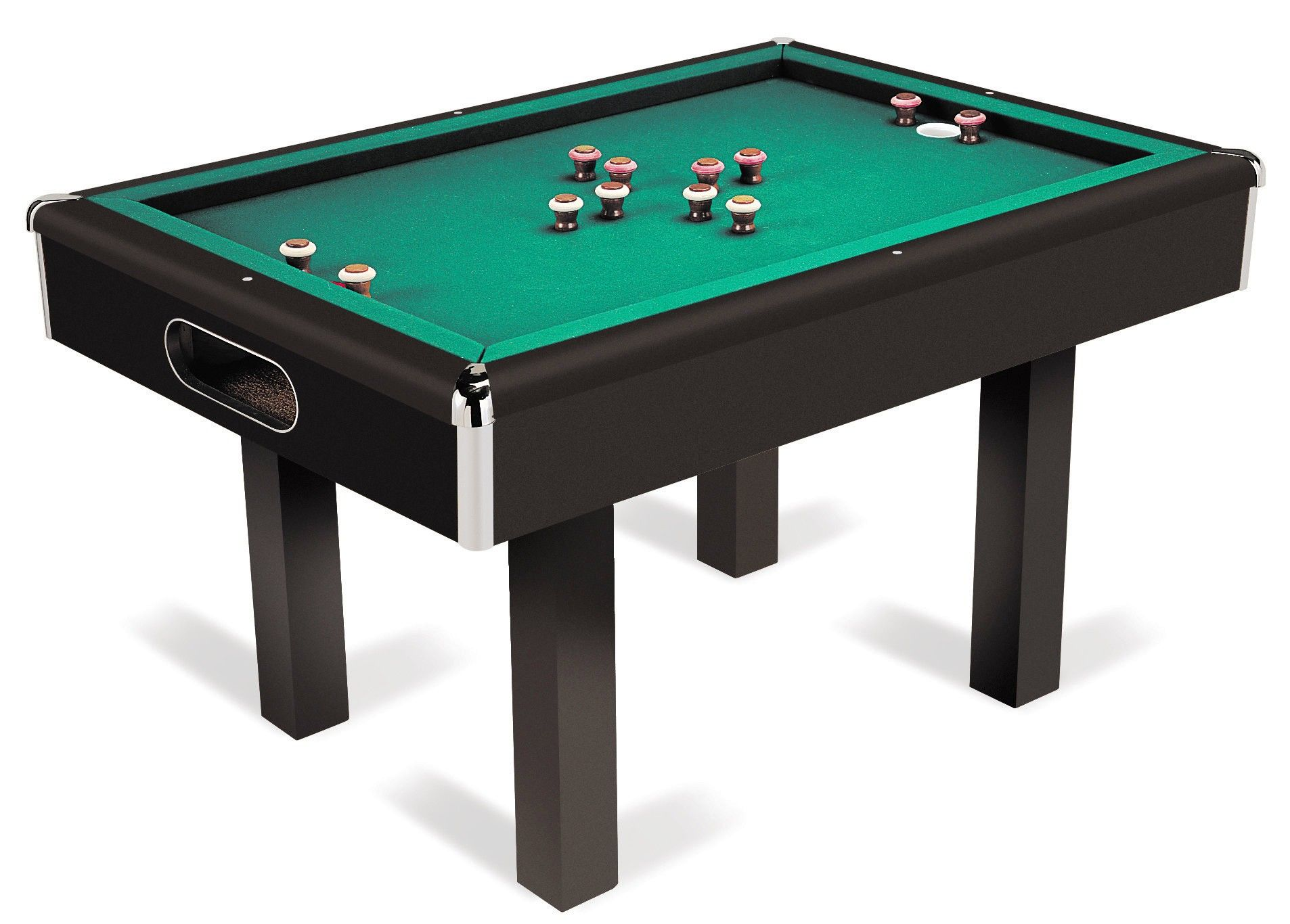Bumper Pool Table Pared