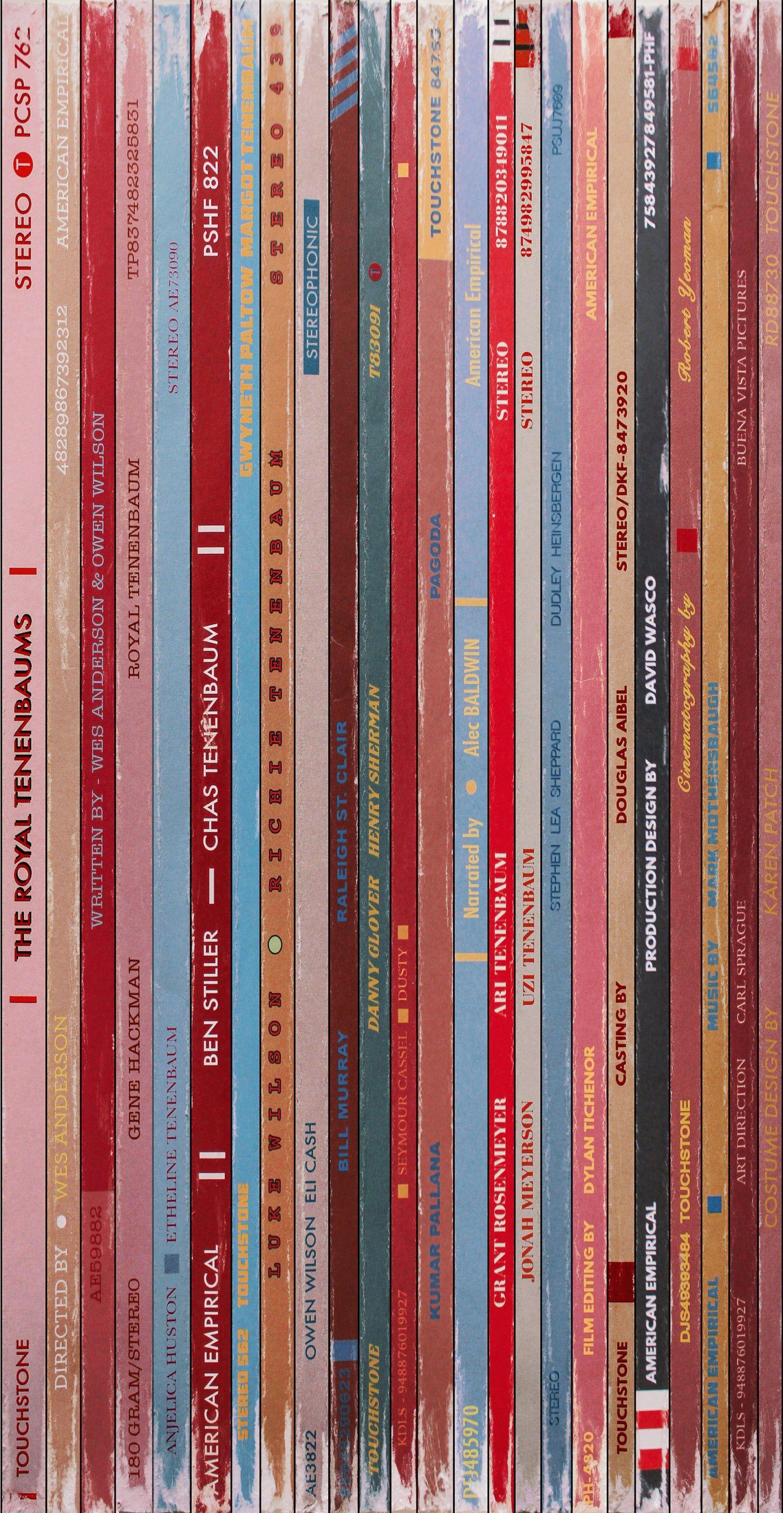 The Royal Tenenbaums Vinyl Poster by Jordan Bolton