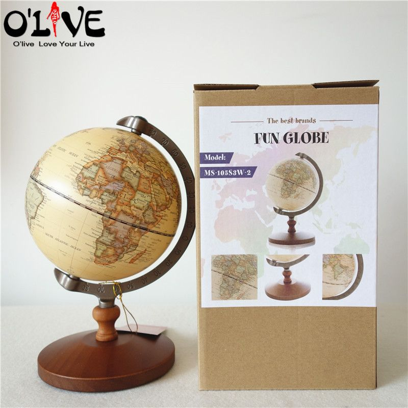 Decorative Globe World Map For Office Desk Decoration