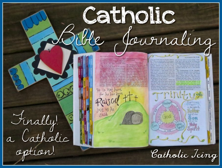 How To Bible Journal Using The Catholic Study Bible